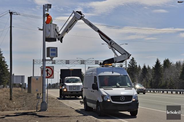 Selon le ministère des Transports du Québec (MTQ),la... (Le Soleil, Patrice Laroche)