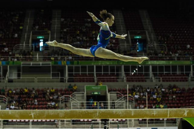 La Fédération internationale de gymnastique s'est plainte de... (Yasuyoshi Chiba, AFP)