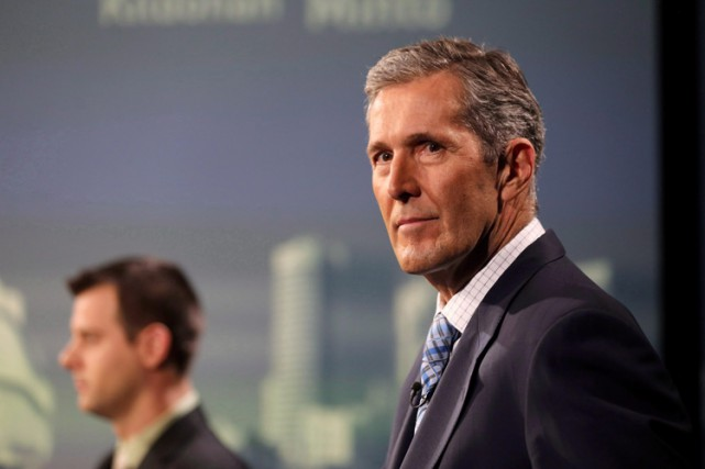 Le chef du Parti progressiste-conservateur albertain, Brian Pallister.... (ARCHIVES PC)