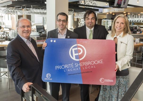 L'instigateur du programme d'achat local Priorité Sherbrooke, Serge... (Spectre Média, Frédéric Côté)