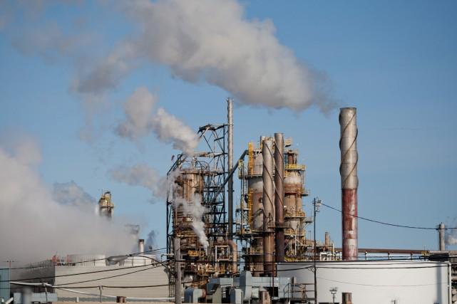 La pollution de l'air a coûté aux Canadiens 36 milliards en 2015 à cause de... (PHOTO DAVID BOILY, ARCHIVES LAPRESSE)