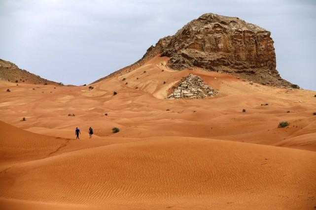 La température moyenne sur la Terre en mars... (AFP, Karim Sahib)