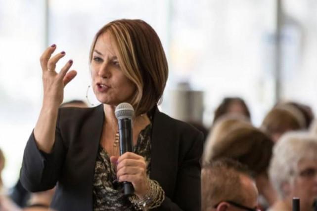 Thérapeute conjugale, Esther Perel est reconnue mondialement pour... (PHOTO TIRÉE DE LA VIDÉO LA SEXUALITÉ DES PARENTS, REVUE ET CORRIGÉE, TOURNÉE PAR MARTIN LEBLANC)