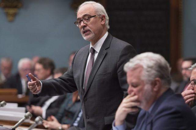 Cette semaine, le Parti québécois avait fait des... (Photo Jacques Boissinot, La Presse Canadienne)