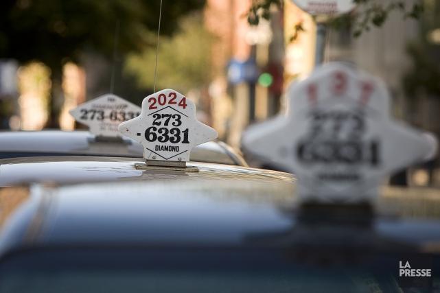 À partir de janvier 2017, les chauffeurs de... (PHOTO ANDRÉ PICHETTE, ARCHIVES LA PRESSE)