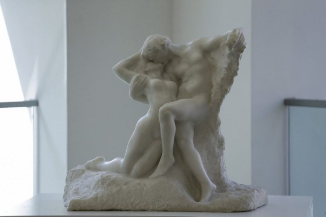 L'éternel printemps d'Auguste Rodin... (PHOTO ARCHIVES AFP)