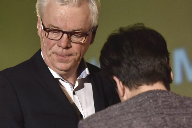 Greg Selinger et sa femme Claudette.... (PHOTO MIKE SUDOMA, LA PRESSE CANADIENNE)