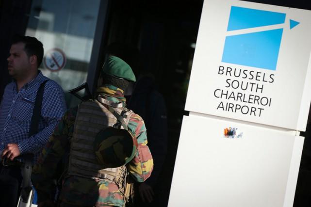 Najim Laachraoui, l'un des deux djihadistes qui se sont fait sauter à... (PHOTO AFP)