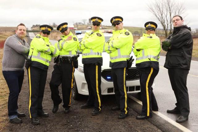 Les agents de la Gendarmerie royale du Canada en Nouvelle-Écosse ont lancé une... (PHOTO PC)