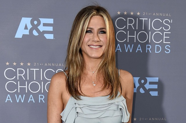 Jennifer Aniston révèle avoir appris à s'accepter telle... (AP, Jordan Strauss)