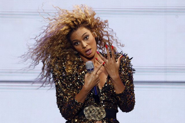 Beyoncé... (PHOTO REUTERS)