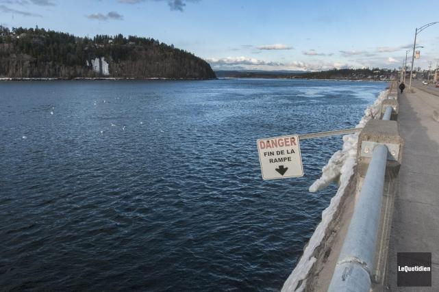 La rivière Saguenay... (Photo Le Quotidien, Michel Tremblay)