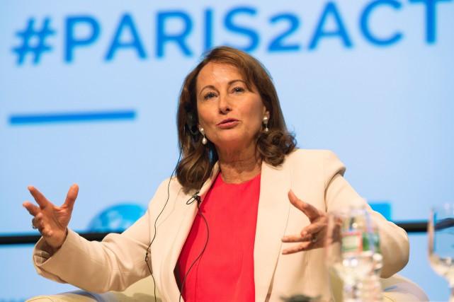 La ministre française de l'Environnement et de l'Énergie,... (PHOTO MOLLY RILEY, AGENCE FRANCE-PRESSE)