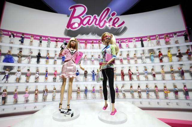 Mattel avait annoncé pour son produit vedette le... (PHOTO JEFF ZELEVANSKY, ARCHIVES REUTERS)