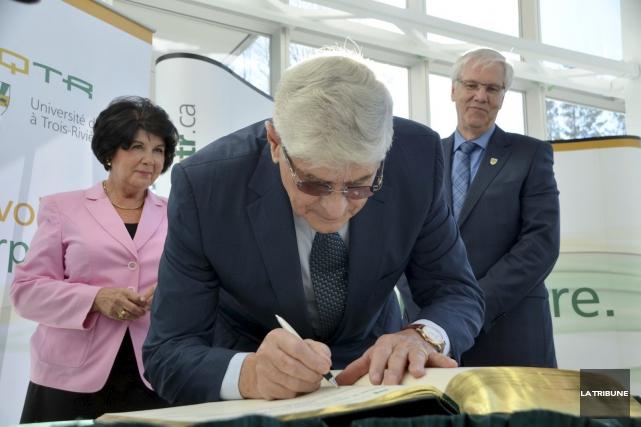 Le président du Groupe Soucy, Gilles Soucy, a... (La Tribune, Yanick Poisson)