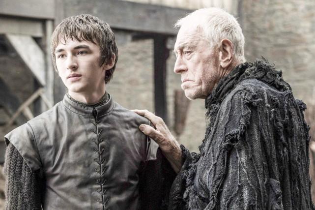 Bran Stark et la Corneille à trois yeux... (Fournie par HBO)