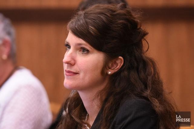 Nancy Déziel... (François Gervais)