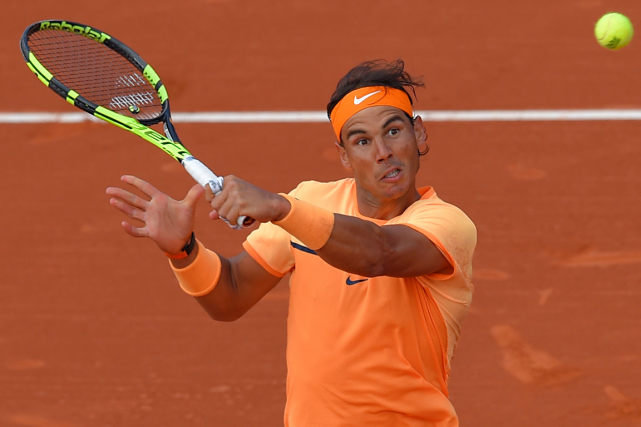 Rafael Nadal... (Photo Lluis Gene, AFP)
