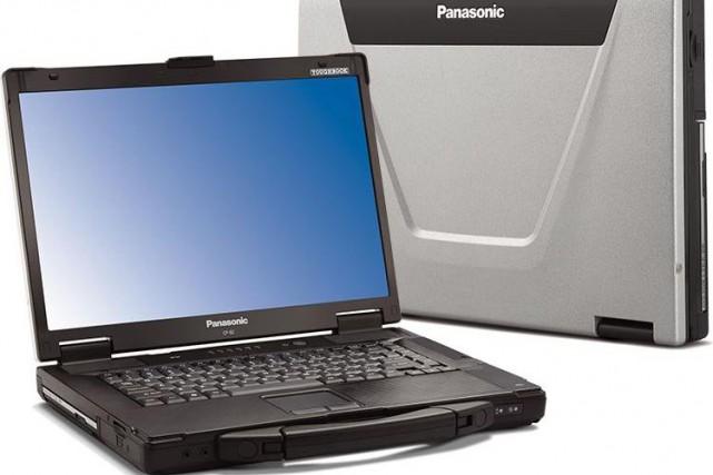 Un portable Panasonic Toughbook CF-52.... (Image fournie par Panasonic)