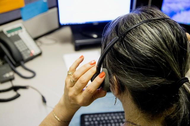 Le secteur des services représente tout juste 16%... (PHOTO ALAIN ROBERGE, archives LA PRESSE)