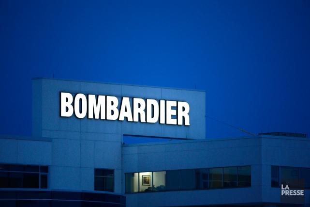 Bombardier a devancé à demain la publication de...