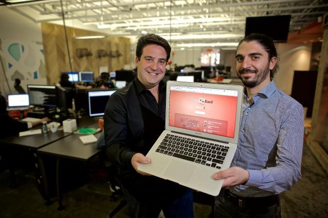 Robert Gold (à gauche), chef des opérations de... (Photo André Pichette, La Presse)