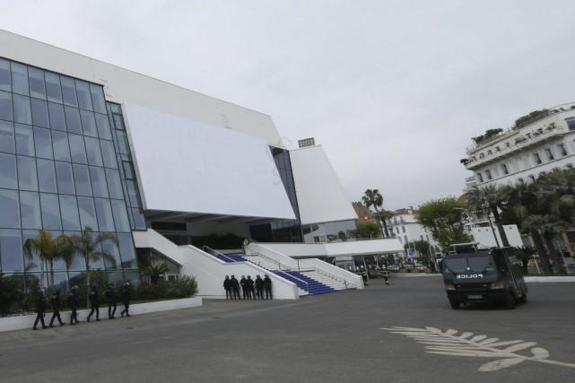 Le Palais des festivals de Cannes, dans le sud de la France, a été le théâtre... (PHOTO AFP)