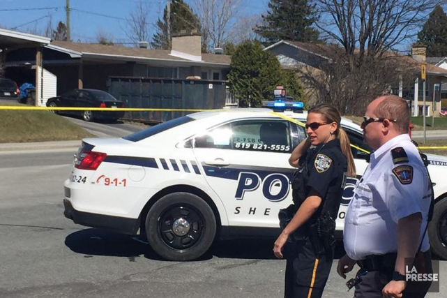 L'opération policière s'est terminée quand on a découvert... (Spectre Média, Jessica Garneau)