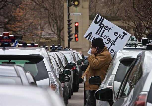 «Québec n'a pas à s'adapter à Uber. C'est... (PHOTO ANDRÉ PICHETTE, ARCHIVES LA PRESSE)