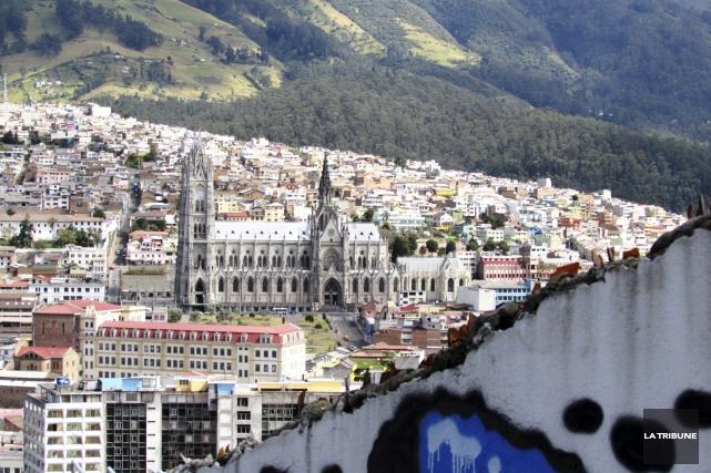 Le tremblement de terre ayant frappé l'Équateur a... (La Tribune, Jonathan Custeau)