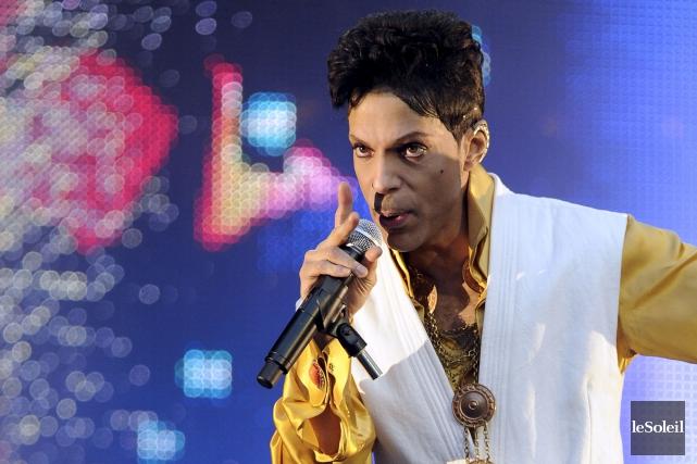Prince en 2011... (Photothèque Le Soleil)