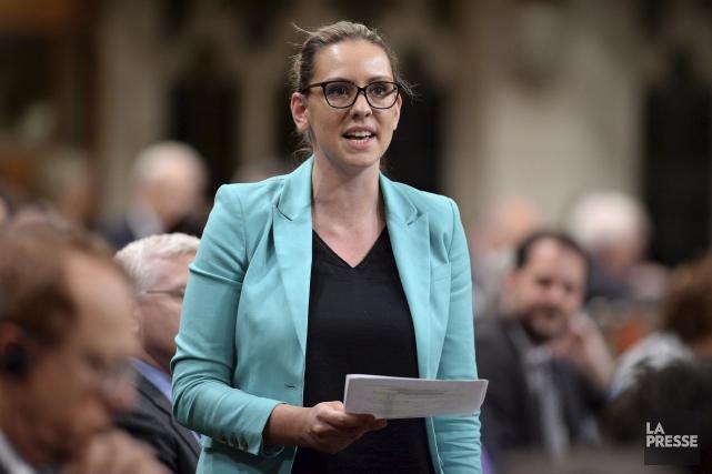 La députée de Berthier-Maskinongé,Ruth Ellen Brosseau.... (Archives, La Presse Canadienne)