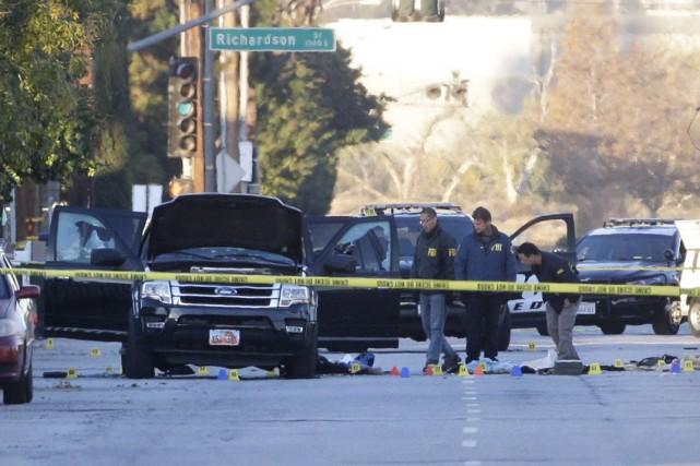 La tuerie de San Bernardino, en Californie, avait... (AP, Jae C. Hong)