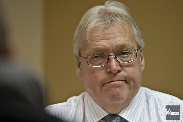 Le ministre québécois de la Santé, Gaétan Barrette... (Archives La Presse)