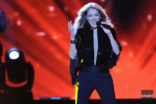 Céline Dion... (Le Soleil)
