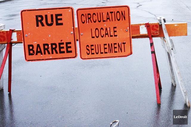 Le ministère des Transports du Québec (MTQ) a fait du «travail bâclé» en début... (Patrick Woodbury, Archives LeDroit)