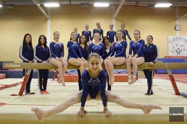Kariane Brousseau mènera les gymnastes du club GYM-TRM... (Sylvain Mayer, Le Nouvelliste)