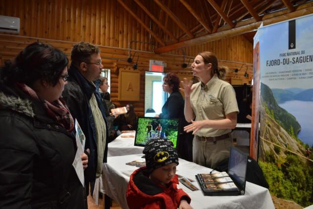 La première Foire de l'emploi du Bas-Saguenay, tenue... (Photo courtoisie)