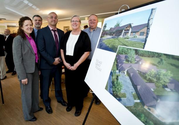 Le projet de résidences pour aînés des Communautés... (Spectre Média, Jessica Garneau)