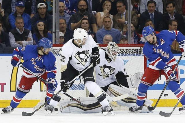 Les Penguins de Pittsburgh ont peut-être été la meilleure équipe de la LNH dans... (Photo Julie Jacobson, AP)