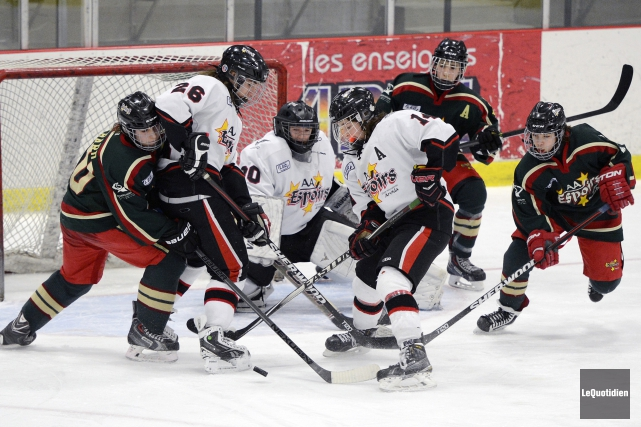 Plusieurs équipes du Saguenay-Lac-Saint-Jean ont mal débuté leur participation... (Archives Le Quotidien, Jeannot Lévesque)