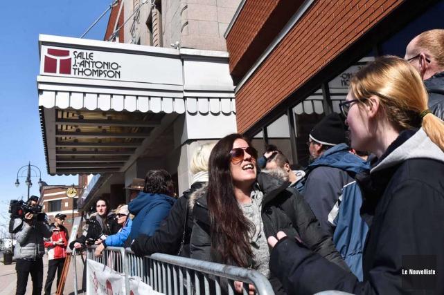 Les ratés de la vente des billets pour... (Andréanne Lemire, Le Nouvelliste)