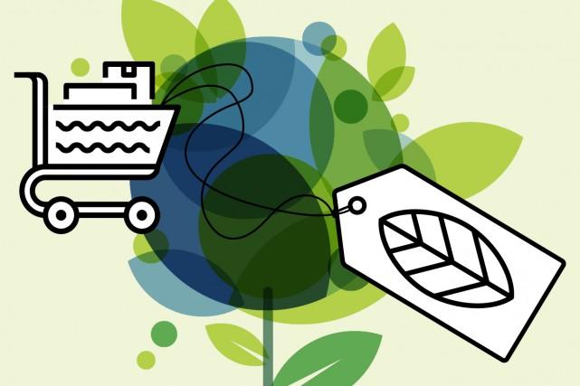 Ecocert. Naturel. Certifié MSC. Sans phosphate. ÉcoLogo UL. SeaChoice. Test... (123RF/Betelgejze)