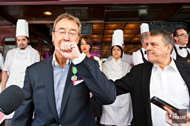 Alain Creton, le propriétaire de Chez Alexandre,a une... (PHOTO PATRICK SANFACON LA PRESSE)
