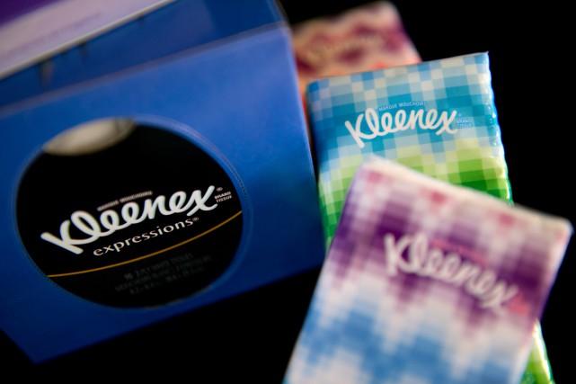 Le groupe américain de produits de grande consommation Kimberly-Clark papetier... (PHOTO DAVID PAUL MORRIS, ARCHIVES BLOOMBERG)