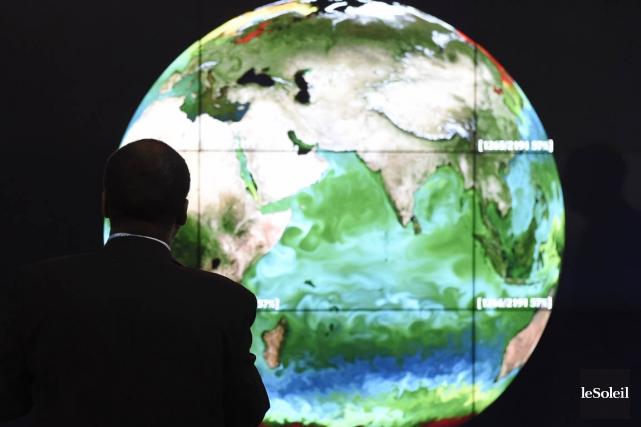Les températures, la montée des eaux et les... (Photo Alain Jocard, archives afp)