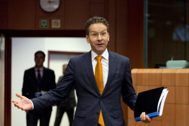 Les grands argentiers de la zone euro ont... (PHOTO VIRGINIA MAYO, ARCHIVES AP)