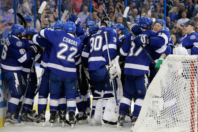Le Lightning de Tampa Bay affrontera les Panthers de... (Photo Chris O'Meara, AP)