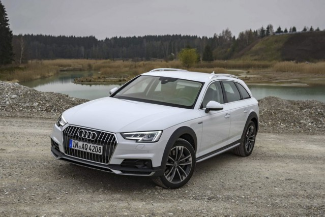 Audi A4 Allroad 2017. Photo : Audi AG...