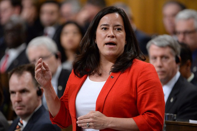 La ministre fédérale de la Justice, Jody Wilson-Raybould.... (Photo Adrian Wyld, archives PC)